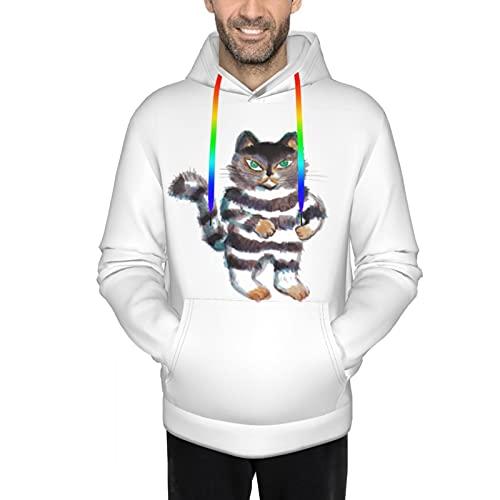 人気 男女兼用 100万回生きたねこ (1) スウェットシャツ 保温する 長袖パーカー 防寒 応援服 暖かい プルオーバー ゆったり トップス かっこいい カットソー フード付きtシャツ プルオーバー