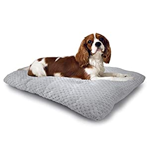 MUMUPET Plush Pet Dog Bed Pad | Machine Wash & Drying | Traditional Sofa-Style Cat Bed, Rabbit Bed | Dog Mat for Medium Dogs