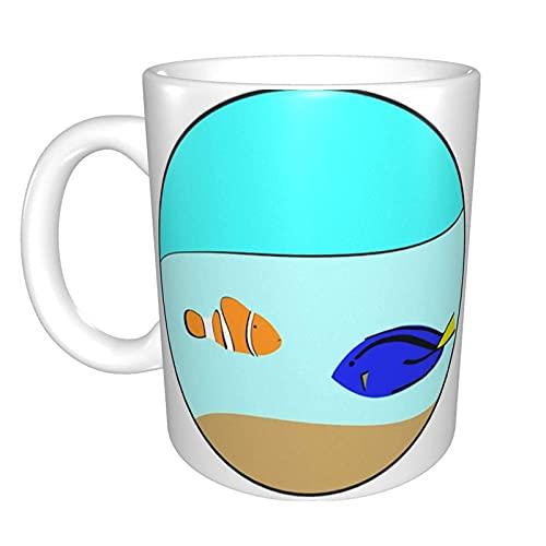 Nemo Dory Fish Home - Taza de cerámica para té o oficina (11 oz)