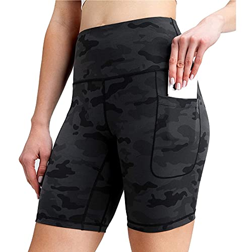 Liably Frauen Hohe Taille Yoga Taschen...