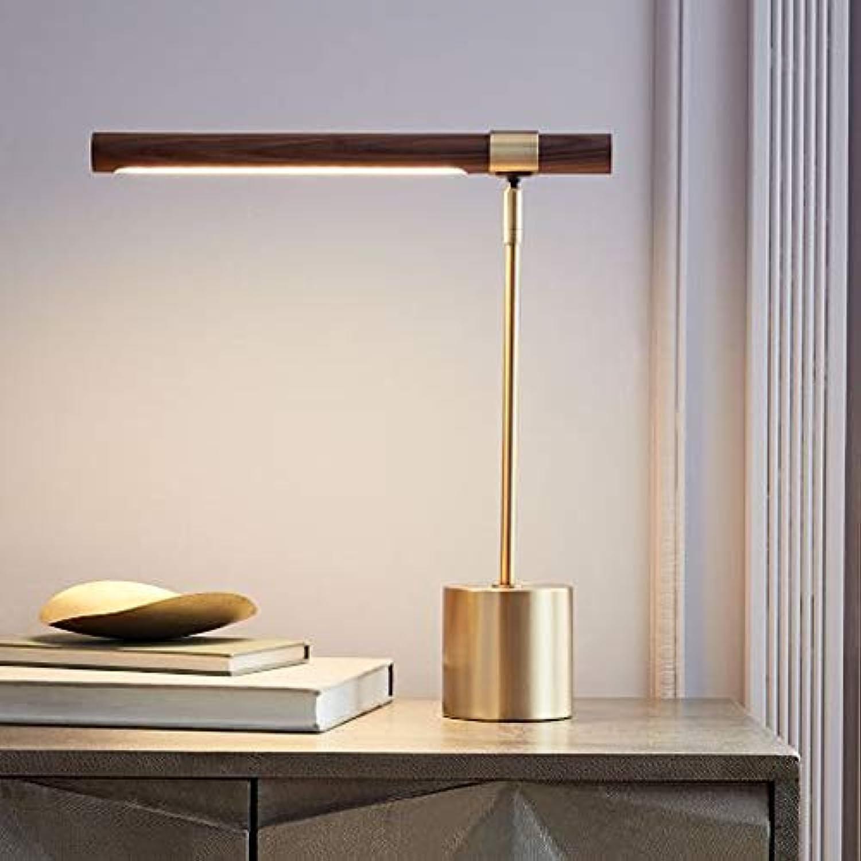 ERCZYO Einfache Nachahmung Holzmuster LED Kinder Studie Auge Lampe Schlafzimmer Nachttisch Hotel Tischlampe B07PNWZ6XF | Modernes Design