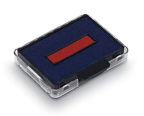 Trodat 6/50/2 Austauschkissen Ersatzkissen Stempelkissen blau-rot für Professional 5430, 5430L, 5431 und 5435, 1 Stück zweifarbig