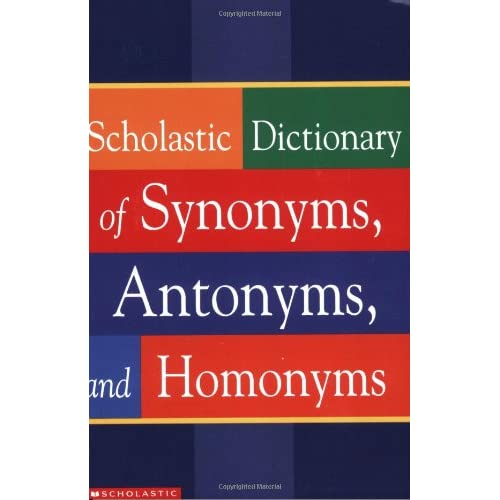 Synonym and Antonyms: Amazon com