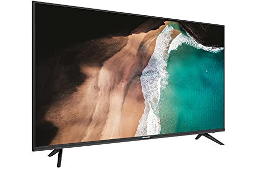 Blaupunkt BA43U5142MEB Android TV 108 cm (43 Zoll) UHD Fernseher (Smart TV, Chromecast, rahmenlos) [Modelljahr 2020]