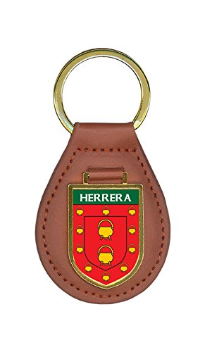Herrera Family Crest Coat of Arms Lot of Total Key Chains