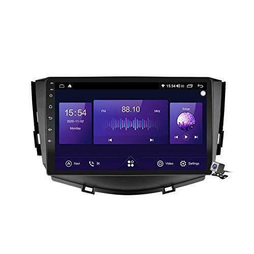 Gokiu Android 10 Autoradio 2 DIN Car Stereo Coche GPS Navegacion para Lifan X60 2012-2016 Soporte Carplay Android Auto/Multimedia FM RDS DSP/Control Volante/Hands-Free Calls,7862: 6+128gb
