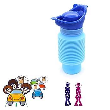 Yuhtech Portable Petit Pot à Urine Toilettes Urinoir d'urgence pour Hommes Femme Enfant pour Urgences en Voiture