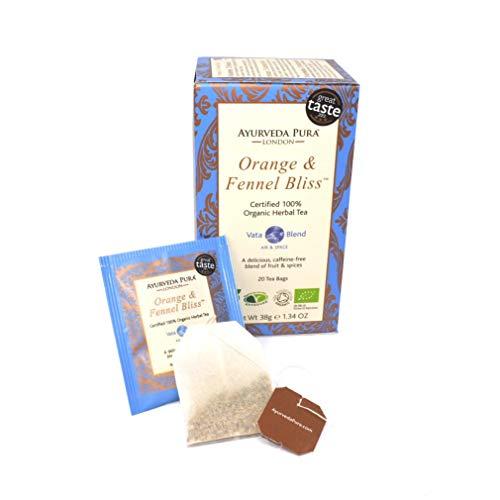 Orange & Fennel Bliss - (Pack of 4) - Certified 100% Organic Herbal Tea