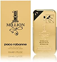 Paco Rabanne 1 Million By Paco Rabanne For Men Eau De Toilette Spray, 1.7 Fl Oz / 50 Ml