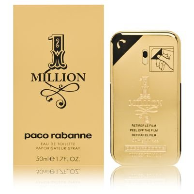 Paco Rabanne 1 Million Eau de Toilette Vaporizador 50 ml