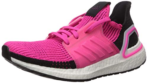 adidas Women's Ultraboost 19 w Running Shoe, Shock Pink/Core Black/FTWR White, 9 UK