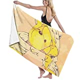 Hdadwy W-in-nie The Pooh Falls Into A Honey Jar Beach Towels Bath Pool Towel 32x52,Soft and Absorbent Luxury Towel,Perfect for Daily Use