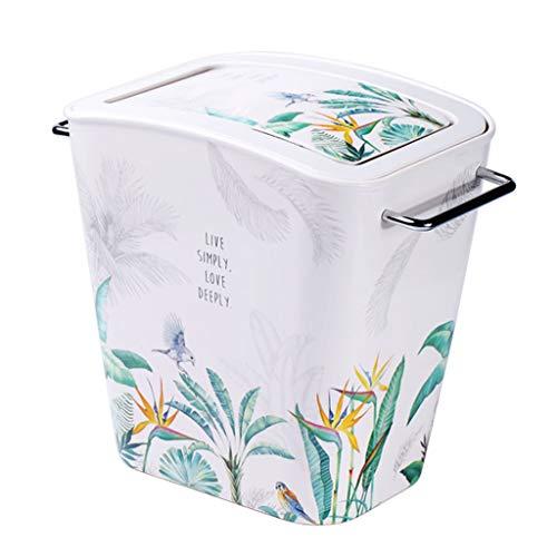 Contenedor de basura Compartimiento de basura 8L / 2.1Gal plástico Cubo de la basura, cubo de basura for...
