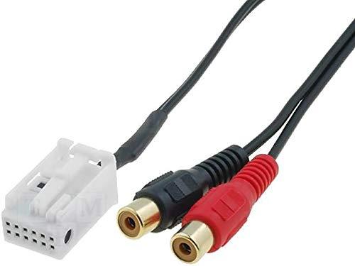Cable Autoradio Adaptateur RCA compatible avec BMW 5 7 X3 X5 Z3 Z4 Mini Cooper