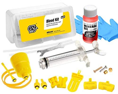 Kit di spurgo per freni a disco idraulici per Shimano,con olio minerale fluido