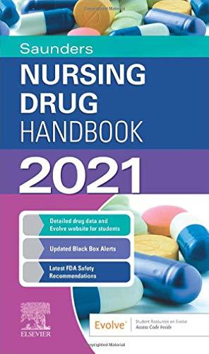 Saunders Nursing Drug Handbook 2021, 1e