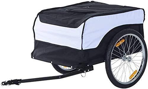 Ladestahl faltbaren Fahrradanhänger, mit einem beweglichen Deckel mit dem Lager,Black and White