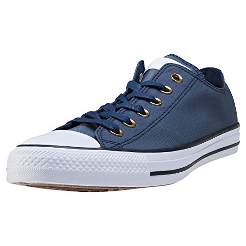 adidas Herren Chuck Taylor All Star OX Basketballschuhe, Grau (Obsidian/White/Black Obsidian/White/Black), 41.5 EU