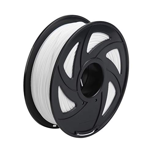 DODUOS PLA Filament 1.75mm 1kg white print filament for 3D printer, 2.2 LBS Spool 3D Printing Filament for 3D Printers, Dimensional Accuracy +/- 0.03mm