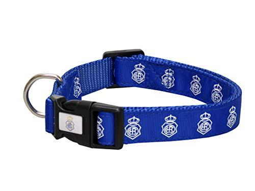 CYP BRANDS -Recreativo de Huelva - Collar para Perro - Talla S