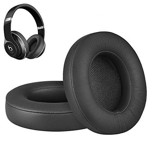 Studio Replacement Ear Pads Cushions Repair Kit Parts Compatible with Beats by Dr. Dre Studio 2 Wireless/Wired B0500/B0501 and Studio 3 Over Ear Headphones (Black)