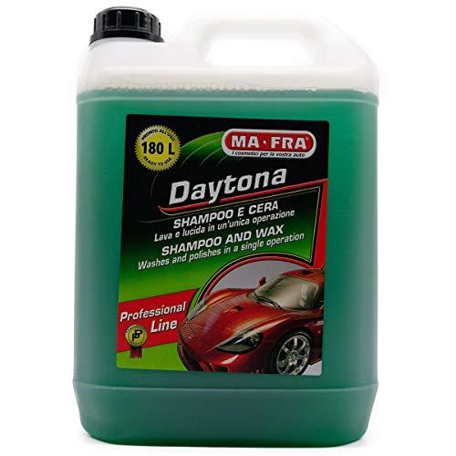 Ma-Fra Shampoo con Cere vegetali per Protezione e lucentezza Auto 4.5 kg Daytona