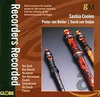 Recorders Recorded (Jewl)