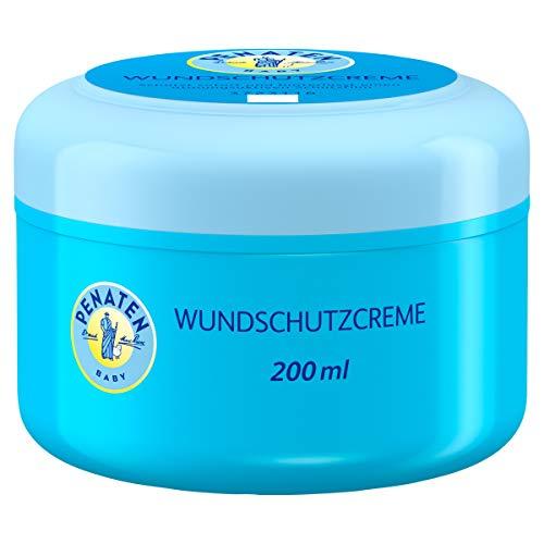 Penaten Wundschutzcreme, beruhigende Baby Wundschutz Creme mit Zinkoxid für Schutz im Windelbereich (1 x 200ml)