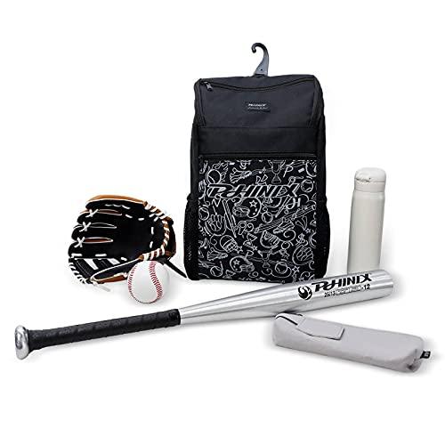 Bolsa Para Bate De Béisbol, Mochila Para Equipo De Softbol Bateo De Béisbol Para Adultos Jóvenes, 2 Bolsas Para Bate Puede Arreglar Casco De Murciélago Compartimento Para Equipo y Gancho Para Cercas