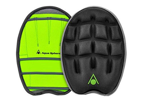 Aqua Sphere AquaX Training Power Glove Wasser Fitness Oberkörper schwarz grün