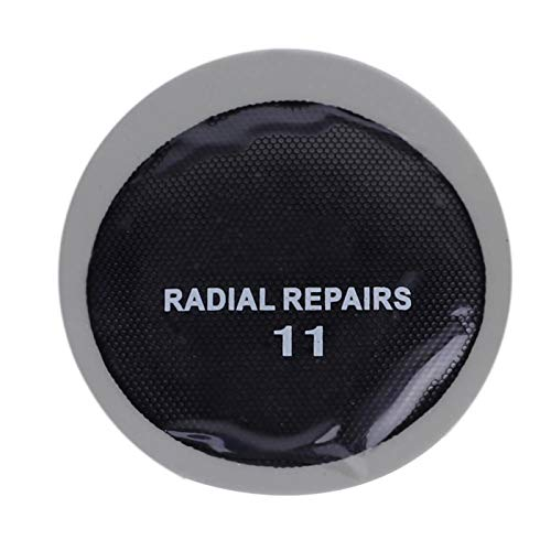 jadenzhou Parche de reparación de Llantas, Parche frío de reparación de Llantas de 43 mm, Parche de reparación de Llantas Redondas 120 Goma 425g Reparación Ultrafina para Muebles de Uso Diario de