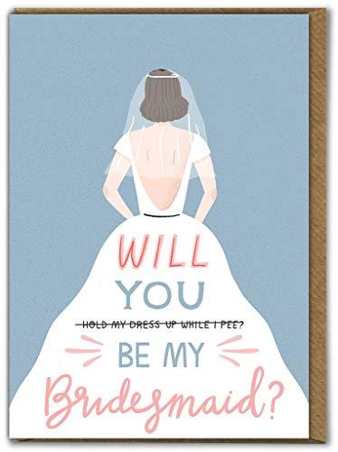 Humorvolle Verlobungs-/Hochzeitskarte