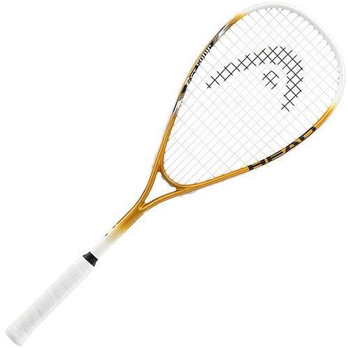 Head PCT Sonic Mens Raqueta de Squash - L3, Oro/Negro/weiß