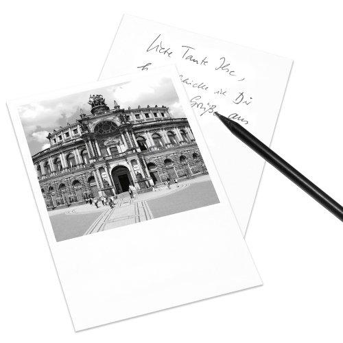 COGNOSCO Postkarte Dresden im Polaroid-Look - Motiv: Semper-Oper