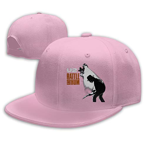 Nijio Unisex U2 Rattle and Hum The Edge Bono Baseball Cap for Mens Warm Cap Dad Hats Adjustable Men's & Women's