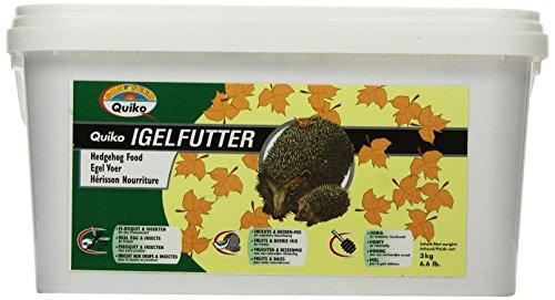 Quiko egelvoeding | hoogwaardig volvoedend voedsel – speciaal afgestemd op de behoeften van de egel, 1 x 3 kg im Eimer