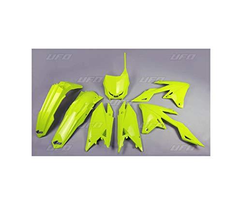 Compatible Con / Reemplazo Para Rmz 250-19/ 20/ Rmz 450-18/20 - Kit de Plástico UFO Amarillo Fluorescente-4420000723