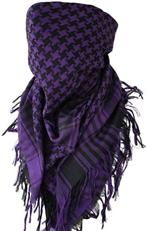 Houndstooth Keffiyeh Shemagh Military Scarf Bandana Head Wrap Tactical Gear for Men and Women product image