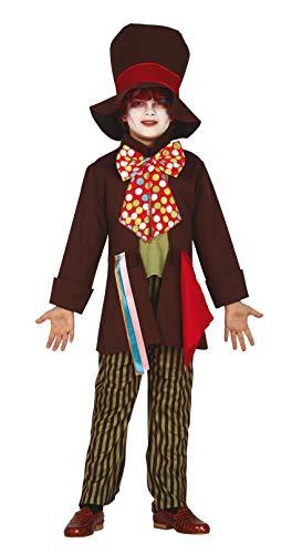 Fiestas Guirca Costume da Cappellaio Matto Bambino per Travestimento Cosplay