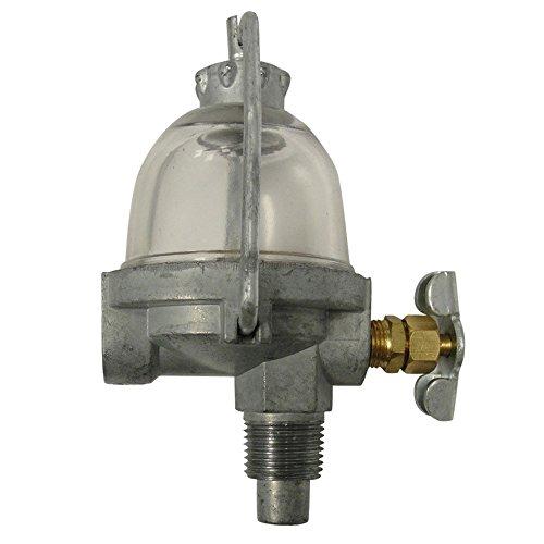 AM3100T Fuel Sediment Bowl Standard 3/8' NFP Thread for Farmall Fits Cub A B C
