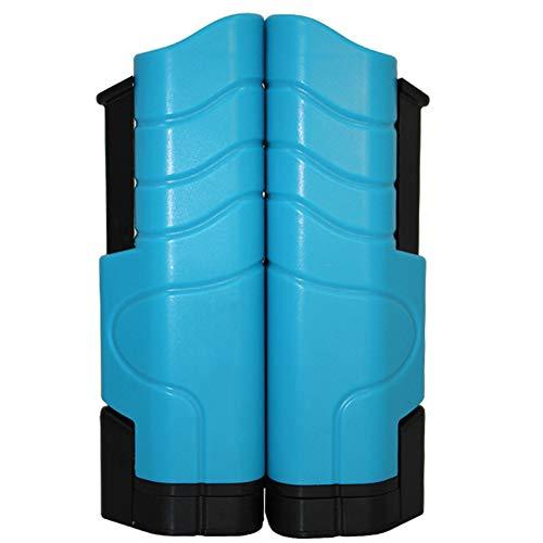 Pingpong - Red de tenis de mesa portátil, accesorio deportivo retráctil con fijación de clip, 1,8 m, apto para mesas de hasta 5 cm, Unisex adulto, negro/azul