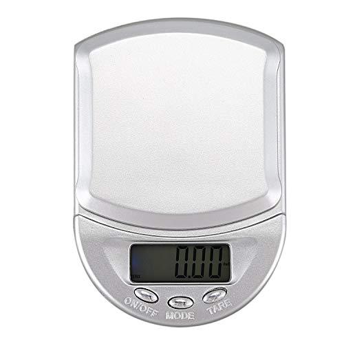 Kamenda 500g/0,1g Digitale Taschenwaage Küchenwaage Haushaltswaage Waage genaue Waage Briefwaage