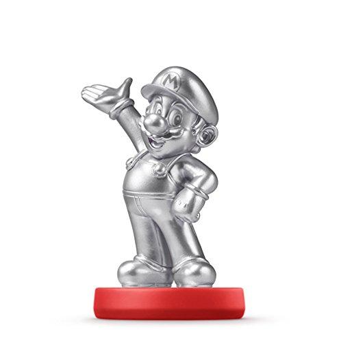 『amiibo アミーボ シルバーマリオ Mario Silver Edition 【並行輸入品】』の1枚目の画像