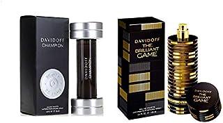 The Brilliant Game By Davidoff Eau De Toilette, 100 Ml With Champion By Davidoff Eau De Toilette, 90 Ml For Men