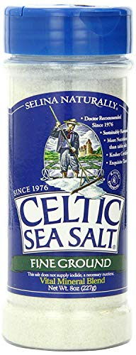 Celtic Sea Salt, Fine Ground Shaker, 8 oz