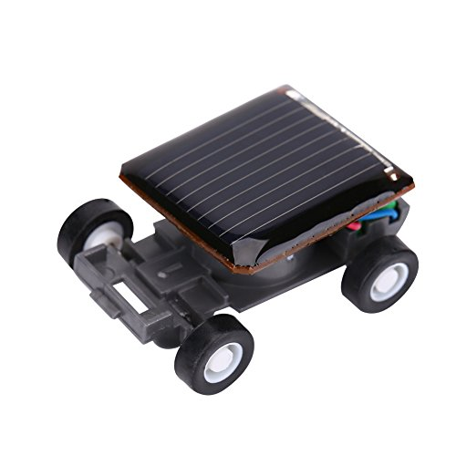 VGEBY1 Solarbetriebenes Auto, Mini Solarfahrzeug Wissenschaft pädagogisches Spielzeug für Kinder
