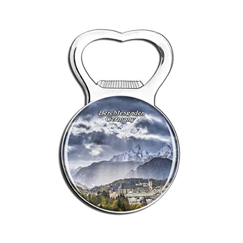 Weekino Berchtesgaden Alpendeutschland Bier Flaschenöffner Kühlschrank Magnet Metall Souvenir Reise Gift