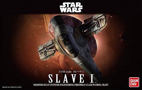 Revell Bandai 01204 Disney Star Wars Slave I Boba Fett originalgetreuer Modellbausatz für Experten, Mehrfarbig, 1/144