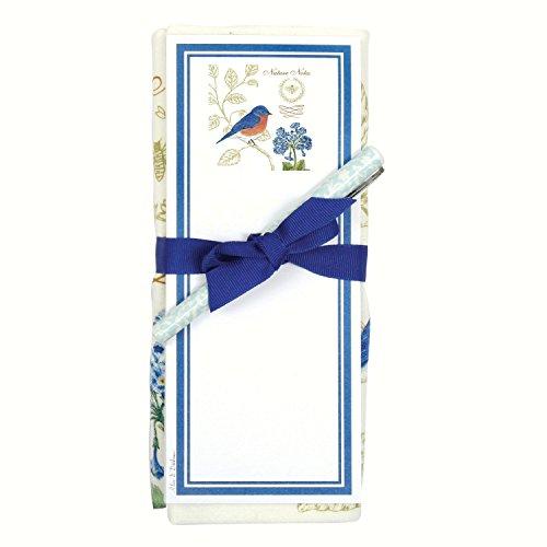 Bluebird NN Sac de farine Serviette et set de bloc note magnétique