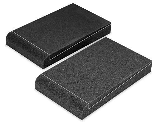 Pronomic ISO-Stand 5 Studiomonitor Absorberplatte 5' (Dämmkeil, Schrägsteller, 2-Komponenten, 5 verschiedene Neigungswinkel, Maße: 4 x 17 x 29,5cm) Anthrazit